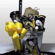 penguins stanley cup chions 75 00 pittsburgh penguins gift basket