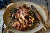 baked lamb chops and lentils