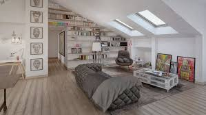 Slanted Ceiling Bedroom 4 Stylish Homes With Slanted Ceilings