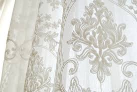 enthralling best interior idea concept wonderful european embroidery white custom made sheer curtains embroidered