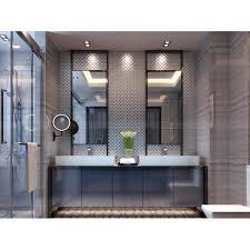 gray porcelain mosaic glazed wall tile kitchen backsplash slip resistant bathroom floor tiles