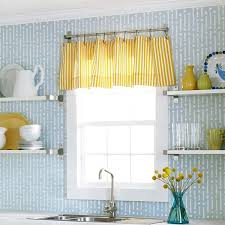 another unique curtain idea for a small window