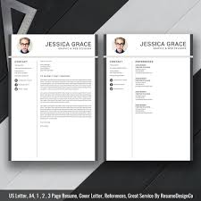 2019 Simple Resume Template Word Modern Cv Template 2019 Cover Letter References Word Resume Professional Resume Resume Design Instant