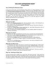 Example Of Admission Essays How To Write The Best College Application Essay Example Admission