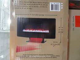 muskoka curved wall mount electric fireplace costco 9