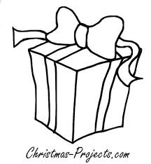 Christmas Present Coloring Pages Getcoloringpagescom