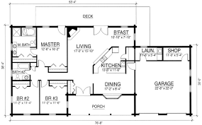Log Cabin House Plans With Garage  Homes ZoneFloor Plans With Garage