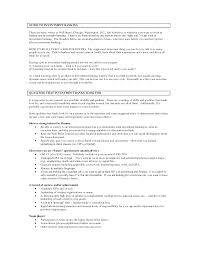 Operations Resume Samples Format For Investment Banking Example