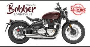 triumph bonneville bobber price specs review pics mileage in