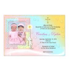 Twin Baptism Invitations Twins Christening Invitations Twin Best Baptism Images On Radyab