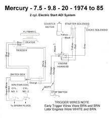wiring diagram for mercury hp outboard wiring discover rewire ignition system 20 hp mariner 1976 page 1 iboats 76 mercury 200 20hp wiring diagram