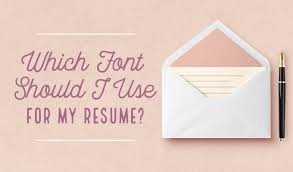 what font to use on resumes which font should i use for my resume creative market blog