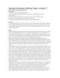 sample summary writing task grade summary of an article