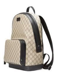 gucci backpack. gucci black gg monogram backpack