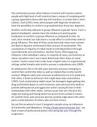 sample essay on influences of conformity and obedience 5 the conformity
