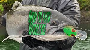 How To Salmon Fish With Brads Wigglers In Rivers Creeks