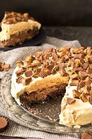 Buckeye Ice Cream Cake Chocolate Peanut Butter Ice Cream Cake