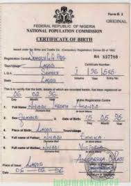 How To Get Birth Certificate In Nigeria Process Cost Where To