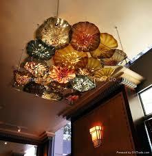 blowing murano glass flower chandelier decorative chandelier 1