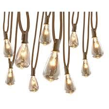 allen roth 13 ft 10 light white plug in bulbs string lights