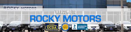 rocky motors bad credit auto financing