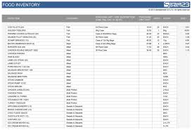 Inventory Excel Template Free Beauteous Food Stocktake Free Template For Excel