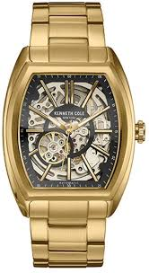 men s kenneth cole automatic gold tone watch 10030813