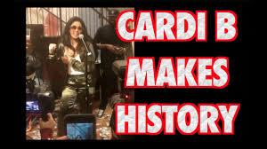 Cardi B Bodak Yellow Hits 1 On Billboard Hot 100 Makes History