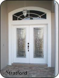 white front doorTraditional and Classic Front Entry Glass Doors