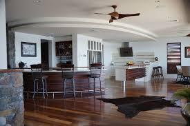 ceiling fan kitchen. tropical kitchen by ms design pty ltd ceiling fan h