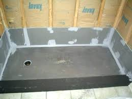shower pan liner install liners large size of installation photo design how to and walls shower pan install