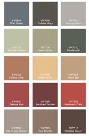 Western Stucco Color Chart Autumnal Colour Pallet Paint Colors For Home Paint Color
