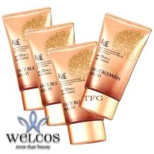 welcos no makeup face blemish balm spf30 pa whitening 50ml 4 กล อง