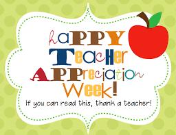 Image result for teacher appreciation images