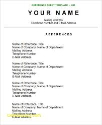 40 Personal Reference For Resume Steamtraalerenborgenes Stunning Reference On Resume
