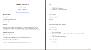 Medical Student Cv Sample Resume Template Pinterest Medical Cv