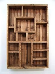 wooden wall bookshelves shadowbox wood shelf shadow box display shelves wood wall art living room decor