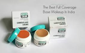 the best full coverage base makeup in india kryolan derma color camouflage creme review