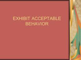 Good Work Traits Exhibit Acceptable Behavior Good Work Ethics Involves These