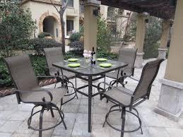 black iron outdoor furniture. Square Fabric Upholstered Patio Chairs Black Iron Outdoor Furniture I