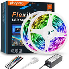 Led Strip Lights, Colour Changing Lighting Strips <b>10m Waterproof</b> ...