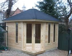 office in the garden. Small Corner Garden Office In The