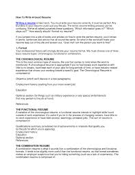 Tips On How To Make A Good Resume Free Resume Example And