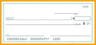 Blank Cheque Template Adorable Blank Check Templates For Word Business Template Printable Checks