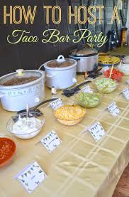 #DIY Taco Bar Party - Table Tents Free Printables