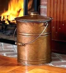fireplace ash bucket fireplace ash bucket copper fireplace bucket copper ash bucket hearth fire place wood fireplace ash bucket