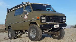 BangShift.com This Solid Axle 4x4 1985 Chevy Van Is The Ultimate ...