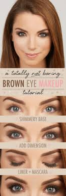 take worthy brown eye makeup look the opposite of boring in every way the result let s just say we re never putting baby in a corner ever again