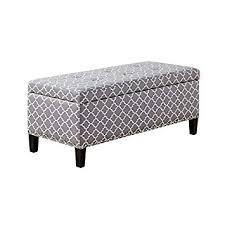 grey tufted bench. Plain Grey Madison Park Tessa Grey Tufted Top Storage Bench In I