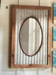 ... Large Size of Mirrors:rustic Bathroom Mirrors Big Rustic Mirror Rustic  Modern Mirror Natural Wood ...